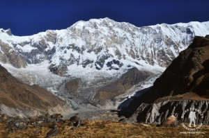 annapurna masyw w himalajach nepalu
