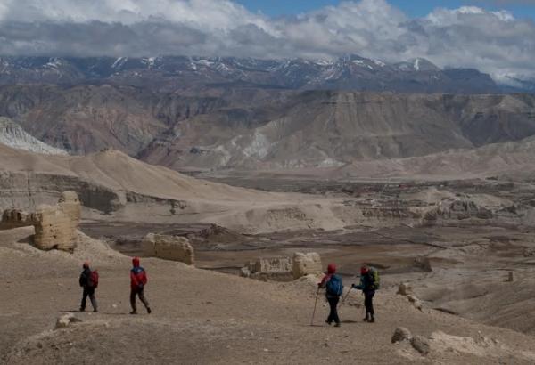 mustang nepal grupa trekking team