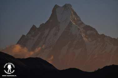 Machhapuchhre 6993m, rejon Annapurny, Nepal