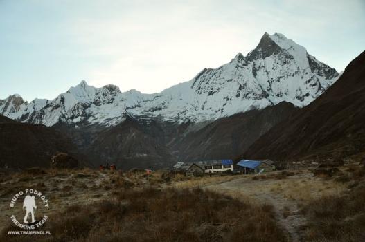 Annapurna Base Camp i Machhapuchhre