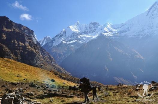 podejście do Annapurna Base Camp