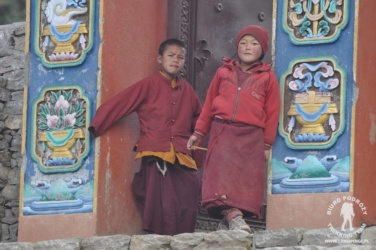 w klasztorze w Lho