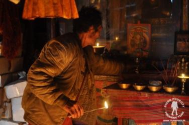 w klasztorze buddyjskim