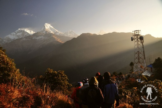 Annapurna South widok z PoonHill