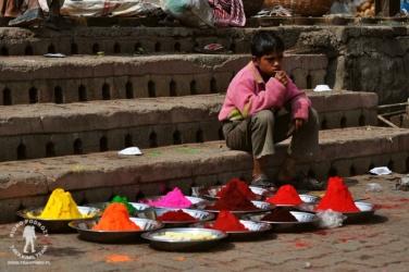 na placu Durbar Square w Kathmandu