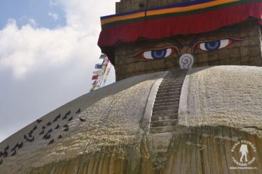 stupa Bouddanath, Kathmandu, Nepal