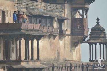 Pałac Jahangiri w Orchha, Indie
