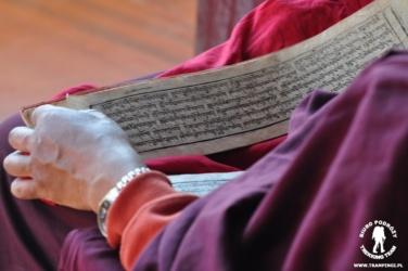 Buddyjska księga modlitewna